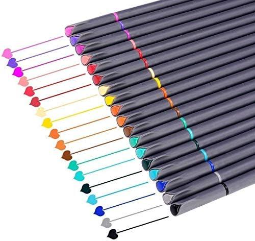 أقلام تخطيط مجلة أقلام ملونة من توبارت أقلام تحديد دقيقة أقلام رسم ذات رأس رفيع ومحمية قلم رفيع للمؤسسات والكتابة لمدوين الرصاصة بتقويم مدوين التلوين لللوازم المدرسية المكتبية 18 لون ا Amazon Ae