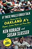 img - for If These Walls Could Talk: Oakland A's: Stories from the Oakland A's Dugout, Locker Room, and Press Box book / textbook / text book