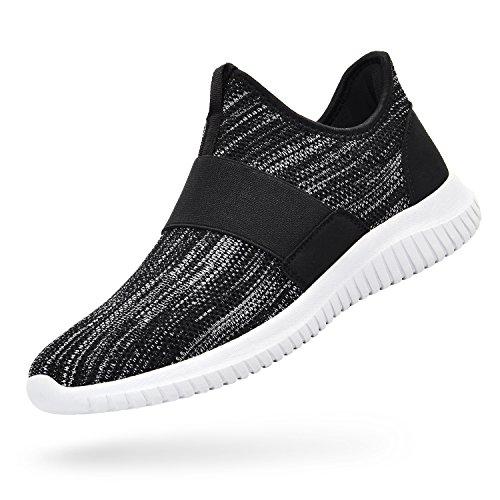 d60ecf151727 Troadlop Womens Sneakers Lightweight Breathable Mesh Slip On Walking Shoes