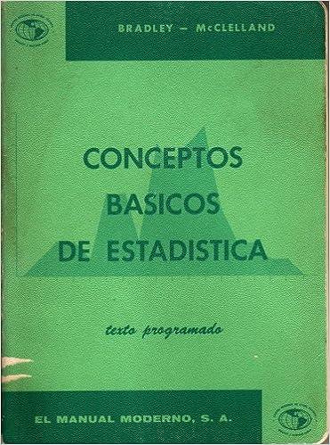 Amazon.com: Conceptos Basicos de Estadistica. Texto ...