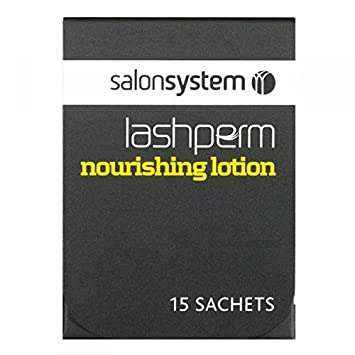 ff8c480260a Salon Systems Lash Perm - Lash Lift Nourishing lotion - 15 Sachets: Amazon. co.uk: Beauty