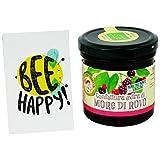 Confettura Extra di More con Zucchero di Canna - Prodotto Biologico Italiano - Provenienza more di rovo: Parco nazionale dei Monti Sibillini