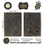 Shvigel Passport Cover - Leather Holder - Love