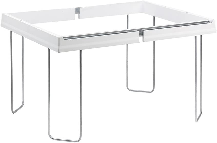 """Smead Heavy-Duty Adjustable Frame for Hanging Folders, 16"""" to 24"""", White (64851)"""