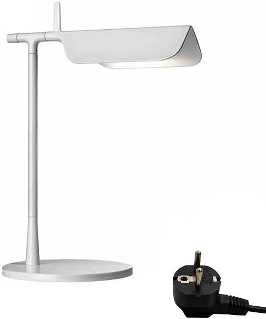 HONGOU Lámpara De Mesa LED 6W Diseño De Luz Blanca Cálida Art ...