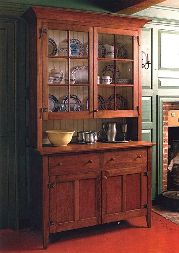 Fine Woodworking Country Hutch Plan