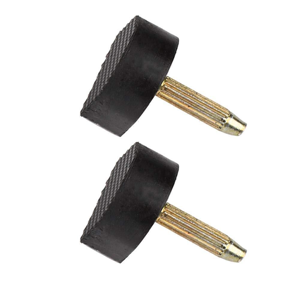 24 Piezas De Puntas De Tac/ón Alto Reemplazo De Clavijas Zapatos Tap Cap Repair Tool Kit Puntas De Tac/ón 8x8mm