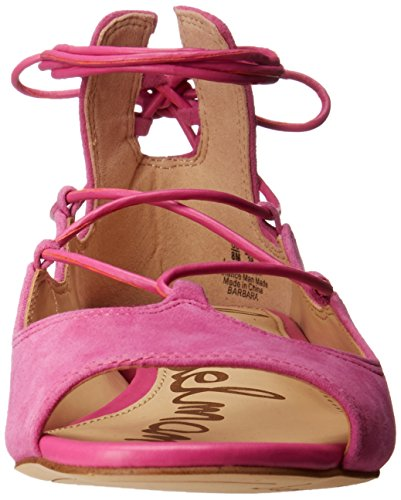 Suede Barbara Edelman Women's Sam Pink Flat Ballet Hot Wxwa8WcHqS