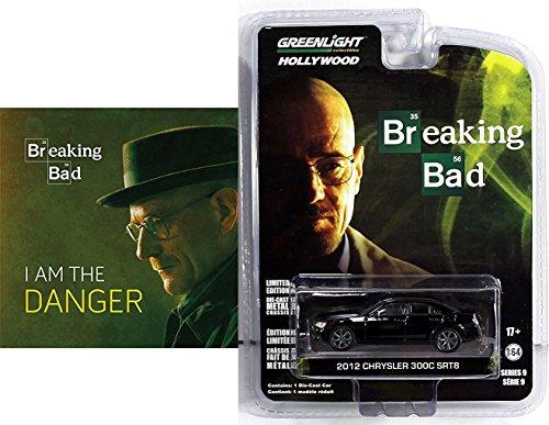 Chrysler 300c Wagon (Greenlight Breaking Bad Car & Book Combo Pack 2012 Chrysler 300C SRT8 Breaking Bad edition& Breaking Bad: I Am the Danger Hardcover Book Set)