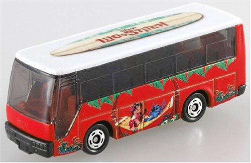 1/145 いすゞ スーパーハイデッカーバス リロ&スティッチ R(オレンジ×ホワイト) 「ディズニー トミカコレクション D-03」