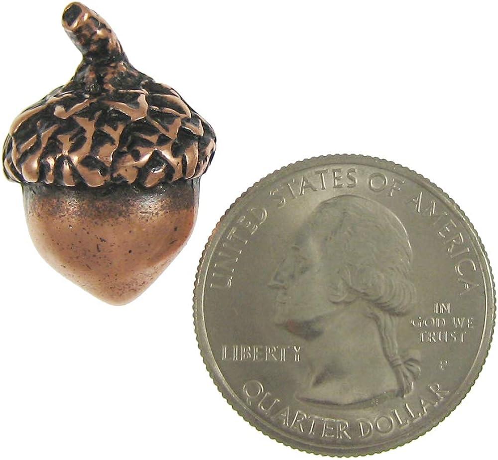 Jim Clift Design Acorn Copper Lapel Pin