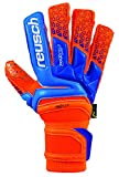 Reusch Prisma Supreme G3 Fusion Goalkeeper Glove, Orange/Blue, 8