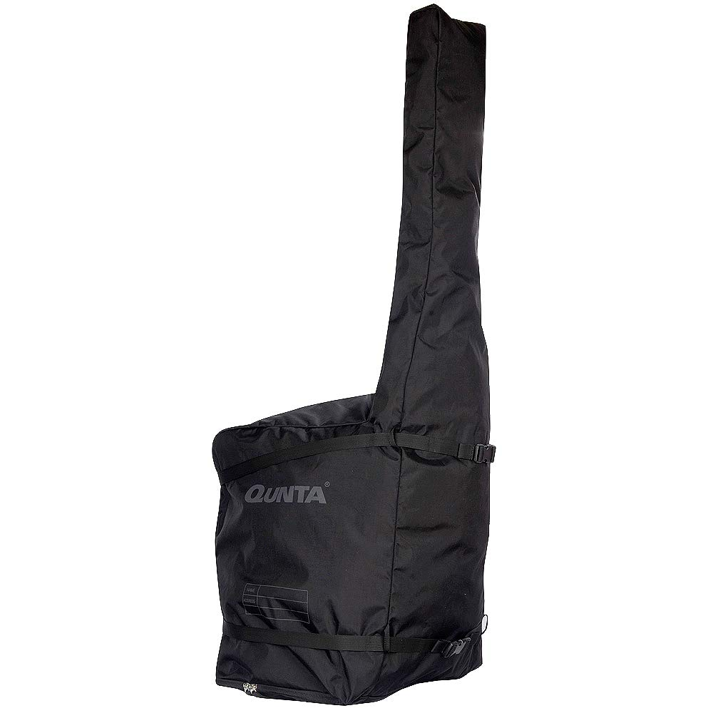 Qunta kendo dojo travel carry bag moogan case black for making one baggage  in flight boarding ea7e4cba5b45e