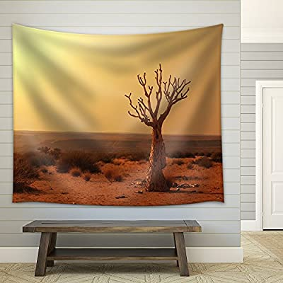 Dead Valley in Namibia Fabric Wall Medium