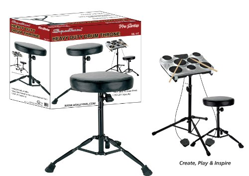 Review Spectrum AIL DT Heavy Duty Drum Throne, 250-Pound Capacity
