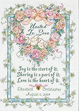 Bare Feet Welcome Stamped Cross Stitch Kit-14X10