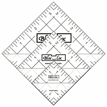 amazon bloc loc half square triangle ruler set 4 1 5 2 5 3 5 4 X 4 Vehicles bloc loc half square triangle ruler set 4 1 5 2 5 quot 3 5 quot