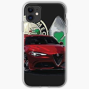 US191PC Super Romeo Italian Italy Space Fast Cars Animal Alfa | Unique Design Snap Phone Case Cover for All iPhone, iPhone 11, iPhone XR, iPhone 7/8/SE 2020.