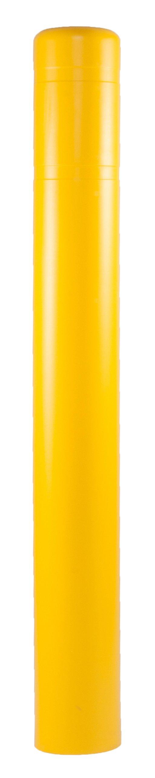 Post Guard CL1386AA Yellow 7'' x 60'' Bollard Cover
