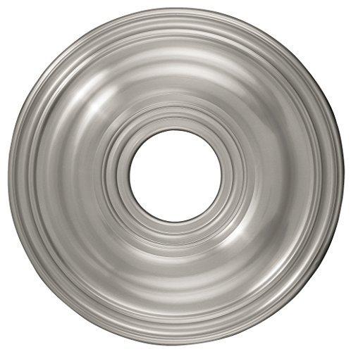 Nickel Medallion - Livex Lighting 8217-91 Ceiling Medallion, Brushed Nickel by Livex Lighting