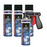 REJEL DINITROL 81 CLEAR WAX 500ml Aerosol x 4 + Cangun