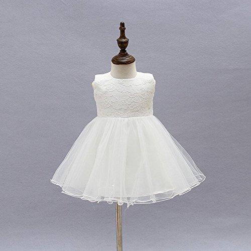 24 Ropa ZAMME del del 0 bebé bautismo de Infantil la vestido M del princesa tutú PqPO1w7r