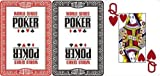 WSOP - MODIANO World Series of Poker Jumbo Index 100% Plastic Poker Cards by Tavoloverde
