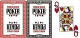 WSOP - MODIANO World Series of Poker Jumbo Index 100% Plastic Poker Cards by Tavoloverde