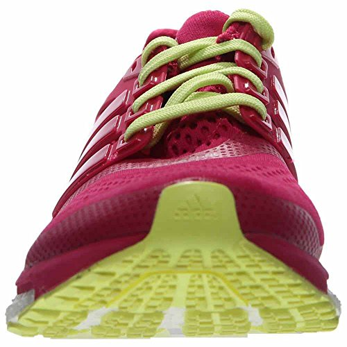 adidas Energy Boost 2, Womens Running Shoes Pink/Yellow