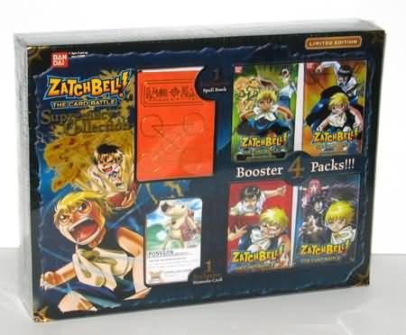Zatchbell! CCG Supremacy Collection Box by Bandai (Zatch Bell Toys)