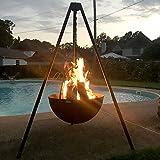 Titan 29'' Cauldron Fire Pit