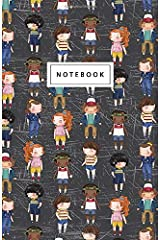 """Notebook: Stranger Things Inspired - Beautiful Design: 5.5"""" x 8.5"""" lined pages. Great for note-taking/Composition/Writing/Planning/Diary/Gift Paperback"""