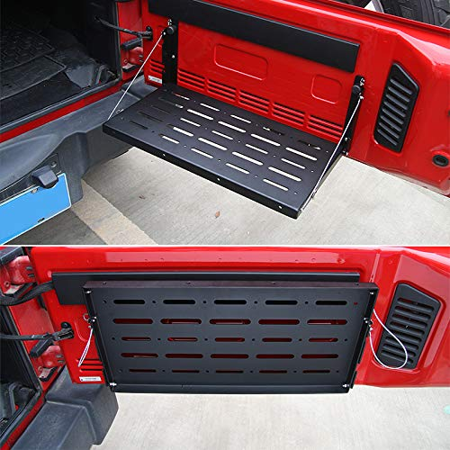 Jeep JK Tailgate Table Support up to 75lb Fit for 2007-2017 Wrangler JK 2/4 Door maite