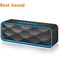 Wireless Bluetooth Speaker,Portable Stereo Speaker with...