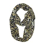 Clearance Scarfs, Hidden Zipper Pocket Lightweight Warm Travel Couple Scarves Neck Warmers Loop Muffler ODGear
