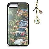 exo phone accessories - Fanstown kpop EXO THE WAR iPhone7PLUS/iPhone8PLUS case + album logo pendant (F01)