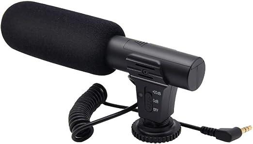 XY-M Audio De 3,5 Mm Plug Cámara Profesional del Micrófono De ...