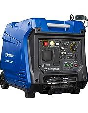 Westinghouse iGen4500 Super Quiet Portable Inverter Generator 3700 Rated & 4500 Peak Watts, Gas Powered, Blue/Black