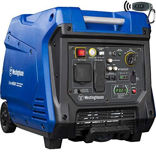 Westinghouse iGen4500 Super Quiet Portable Inverter Generator 3700 Rated 4500 Peak Watt