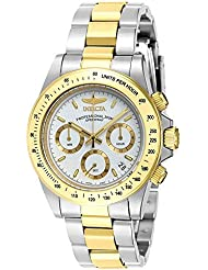 Invicta Mens 7029 Signature Collection Speedway Two-Tone Chronograph Watch