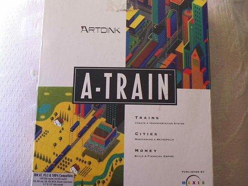 A-Train Railroad Development Simulation Game & Construction Expansion Set