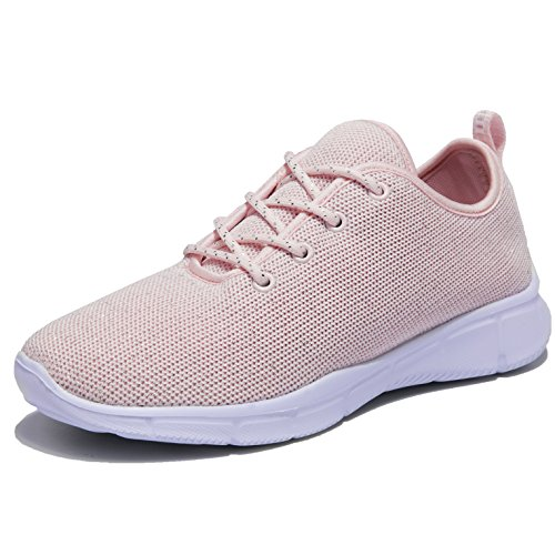 Women Fashion Sneakers Sport Shoes (Pink) - 7