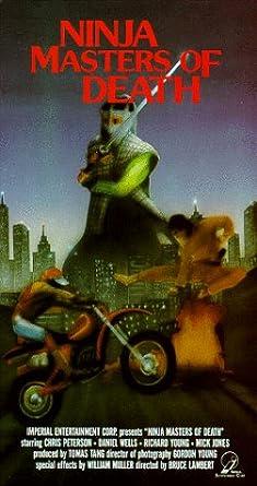 Amazon.com: Ninja Masters of Death [VHS]: Chris Peterson ...