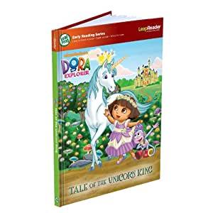 LeapFrog LeapReader Early Reading Book: Nickelodeon Dora the Explorer: Tale of the Unicorn King (works with Tag)