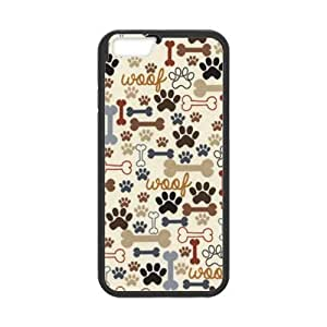 """Comfortable & Beautiful Patterns Apple iphone 5c Dog Paws And Bone Case Skin Cover (Laser Technology) """""""