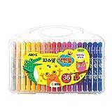Amos Premium Non-toxic Silky Crayon Pasnet 36 Colors