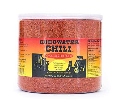 Chugwater Chili Gourmet Chili Blend 16oz. tub