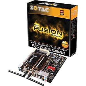 Zotac FUSION350-A-E AMD E-350 AMD M1 SATA3 and USB 3.0 Wi-Fi A&V&GbE Mini ITX Motherboard