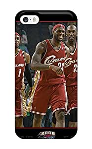 Tpu Shockproof/dirt-proof Nba Cleveland Cavaliers Cover Case For Iphone(5/5s)