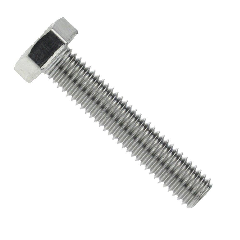Sechskantschraube mit Gewinde bis Kopf DIN 933 Edelstahl A4 M 8 x 70-50 St/ück